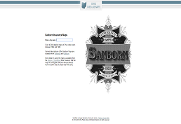 Sanborn database screen shot