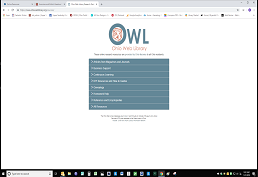 Ohio Web Library Screenshot